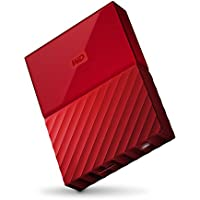 WD 1TB Red My Passport Portable Storage External Hard Drive USB 3.0 [並行輸入品]