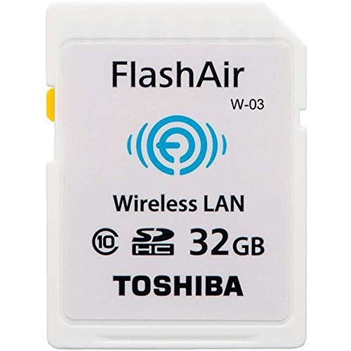 東芝 TOSHIBA 無線LAN搭載 FlashAir III 第3世代 Wi-Fi SDHCカード Class10 日本製 [並行輸入品] (32GB)