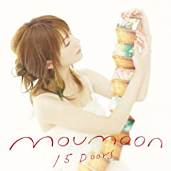 moumoon「15 Doors」のCDジャケット