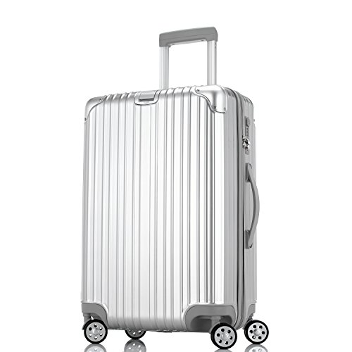 Unitravel スーツケース 超軽量 キャリーケース TSAロック ファスナー開閉式 キャリーバッグ 旅行 出張 静音8輪 s型 機内持込