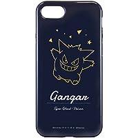 グルマンディーズ ポケットモンスター iPhone7/6s/6対応ラウンドソフトケース ゲンガー poke-576c