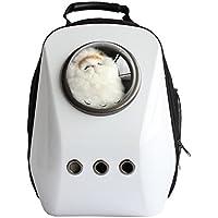 My Vision 宇宙船カプセル型ペットバッグ 犬猫兼用 (ホワイト) MV-SPACATBAG2-A-WH
