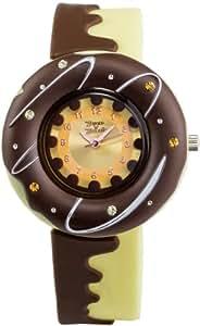 [ドレスアンドダズル]DRESS N' DAZZLE 腕時計 ドーナツ バニラ 香り付 DND001W3 レディース