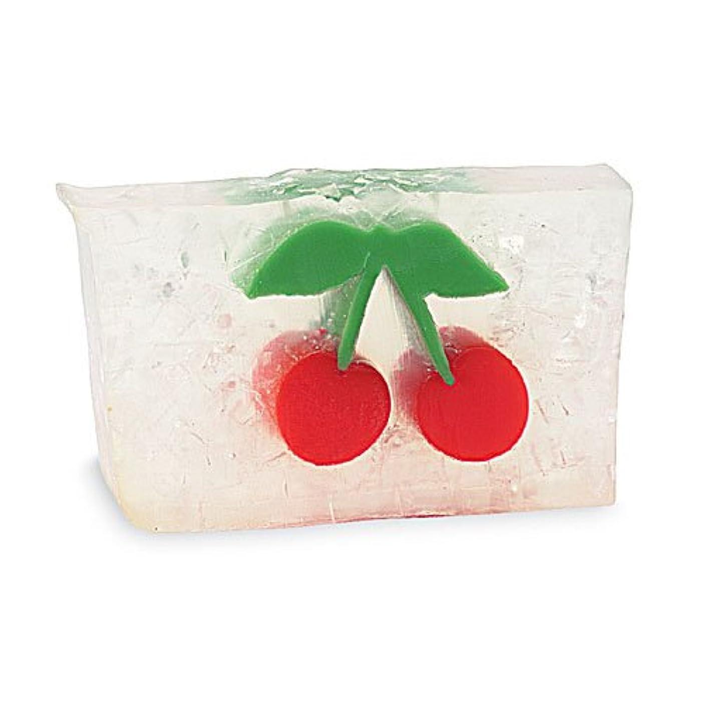 ラジカル敵対的体プライモールエレメンツ アロマティック ソープ チェリー 180g 植物性 ナチュラル 石鹸 無添加