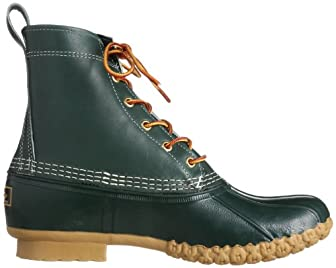Bean Boots 8in 38-32-0030-593: Hunter Green