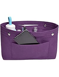 NOTAG フェルト バッグインバッグ インナーバッグ 軽量 高級バッグ専用 大容量フェルト収納バッグレディース ハンドバッグオーガナイザー 化粧ポーチ 8色