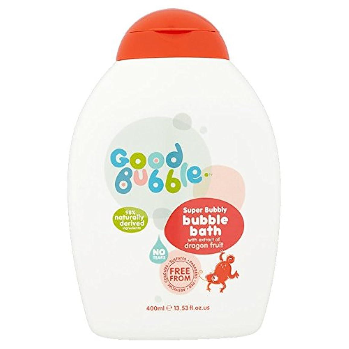 吸収剤芸術的宣言するGood Bubble Bubble Bath with Dragon Fruit Extract 400ml by Good Bubble