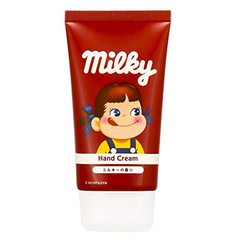 誰も軽くコンサルタント不二家 ハンドクリーム ミルキーの香り 50g