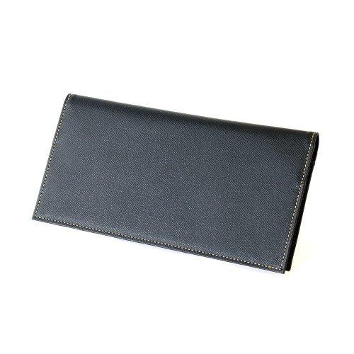 長財布 FRUH フリュー 薄い 軽い 牛革  財布 メンズ:wallet-ga-3581986 (ブラック)