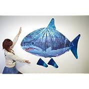ふわふわ浮かぶ 巨大エアーフィッシュラジコン(サメ)◇FS-SH001