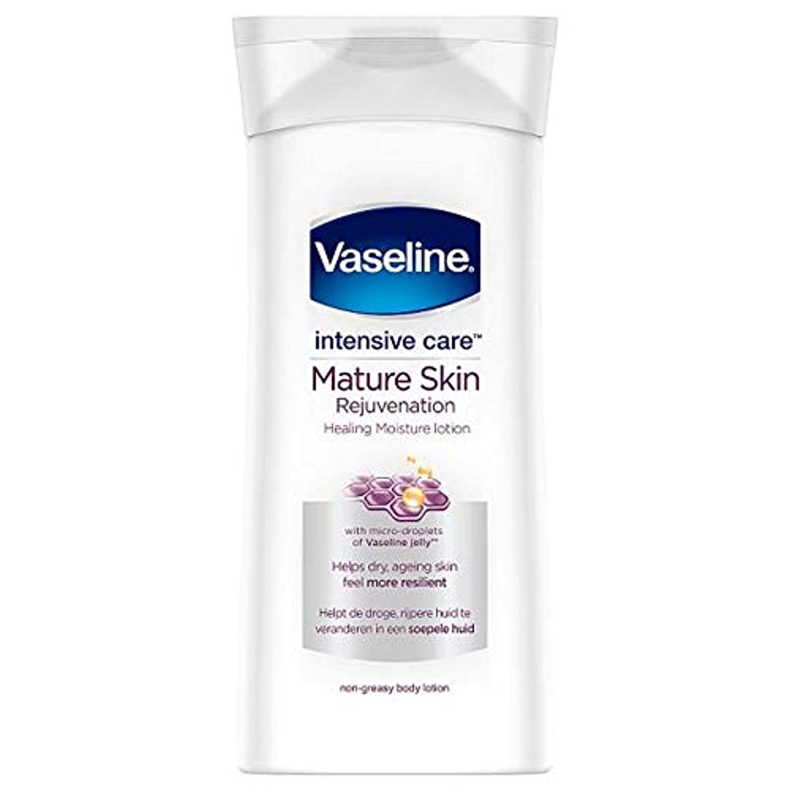 免疫複製する生じる[Vaseline ] ワセリン集中治療ボディローション、成熟した肌の400ミリリットル - Vaseline Intensive Care Body Lotion Mature Skin 400Ml [並行輸入品]