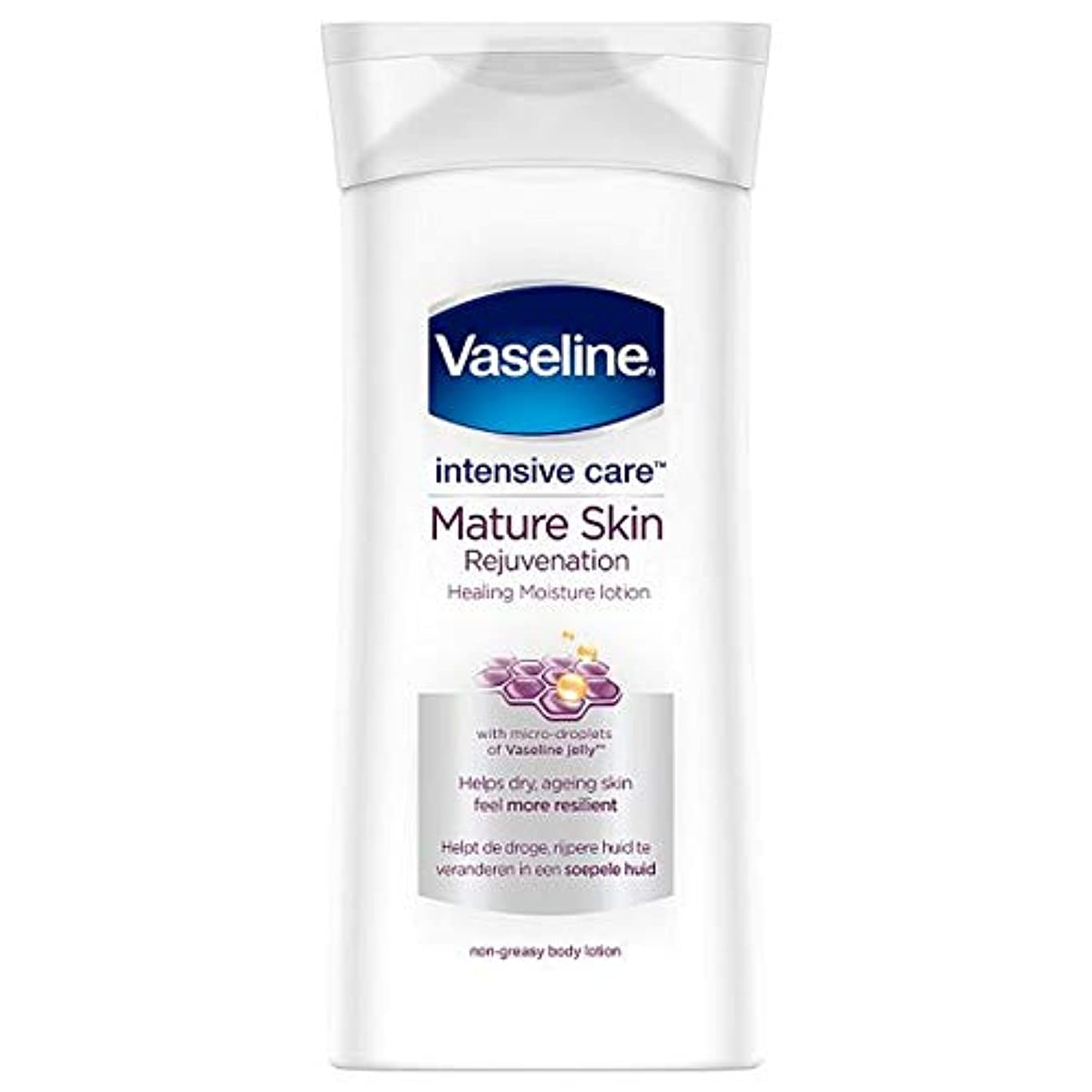 機構ママ建築[Vaseline ] ワセリン集中治療ボディローション、成熟した肌の400ミリリットル - Vaseline Intensive Care Body Lotion Mature Skin 400Ml [並行輸入品]