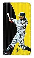スマホケース 手帳型 ベルトなし scv38 ケース 8363-C. 今成 亮太 SCV38 ケース 手帳 [Galaxy S9 SCV38] ギャラクシー エスナイン 阪神タイガース 阪神 タイガース Tigers 野球
