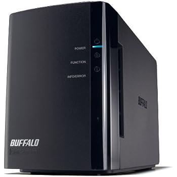 BUFFALO RAID1対応 NAS(ネットワークHDD) 【iPhone5対応(WebAccess i)】 2ドライブモデル 1TB LS-WX1.0TL/R1J
