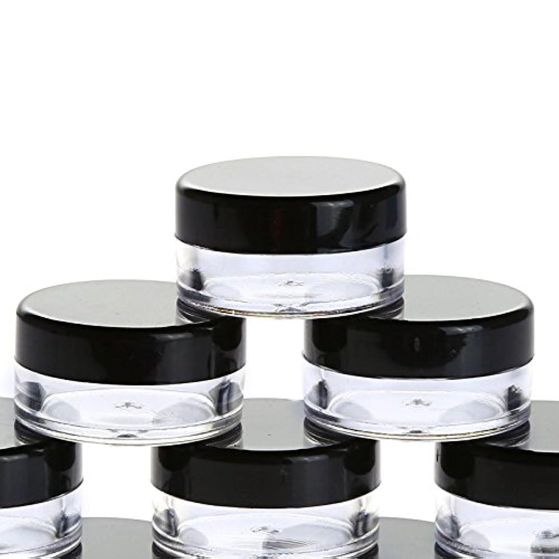 彫るフラップケニア10個入り 5g 化粧品用 小分け容器 小分けボトル クリームケース 詰め替え容器 化粧品 携帯用 収納 旅行用品