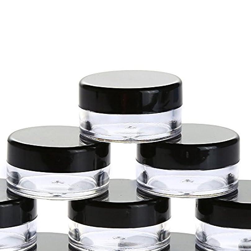 霜パキスタン人分析的な10個入り 5g 化粧品用 小分け容器 小分けボトル クリームケース 詰め替え容器 化粧品 携帯用 収納 旅行用品