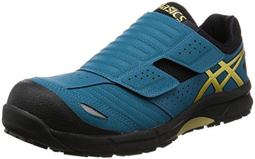 [アシックス] ワーキング 安全靴 作業靴 ウィンジョブRCP101 樹脂製先芯 FCP101 4994オーシャンブルー/ゴールド 24.0