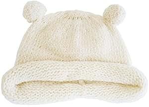 SENSE OF WONDER オーガニックコットン 2017秋冬 日本製 ベーシック モール糸帽子 (42-44cm)