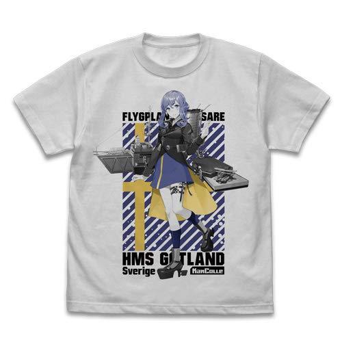 艦隊これくしょん -艦これ- ゴトランド Tシャツ ライトグレイ XLサイズ