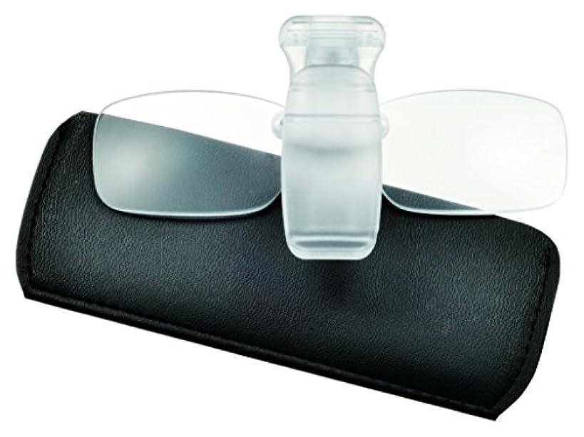 活性化アンドリューハリディお別れPOS art design(ピーオーエスアートデザイン) サングラス 帽子用老眼鏡 ネオキャップシニア ME-7 +2.50