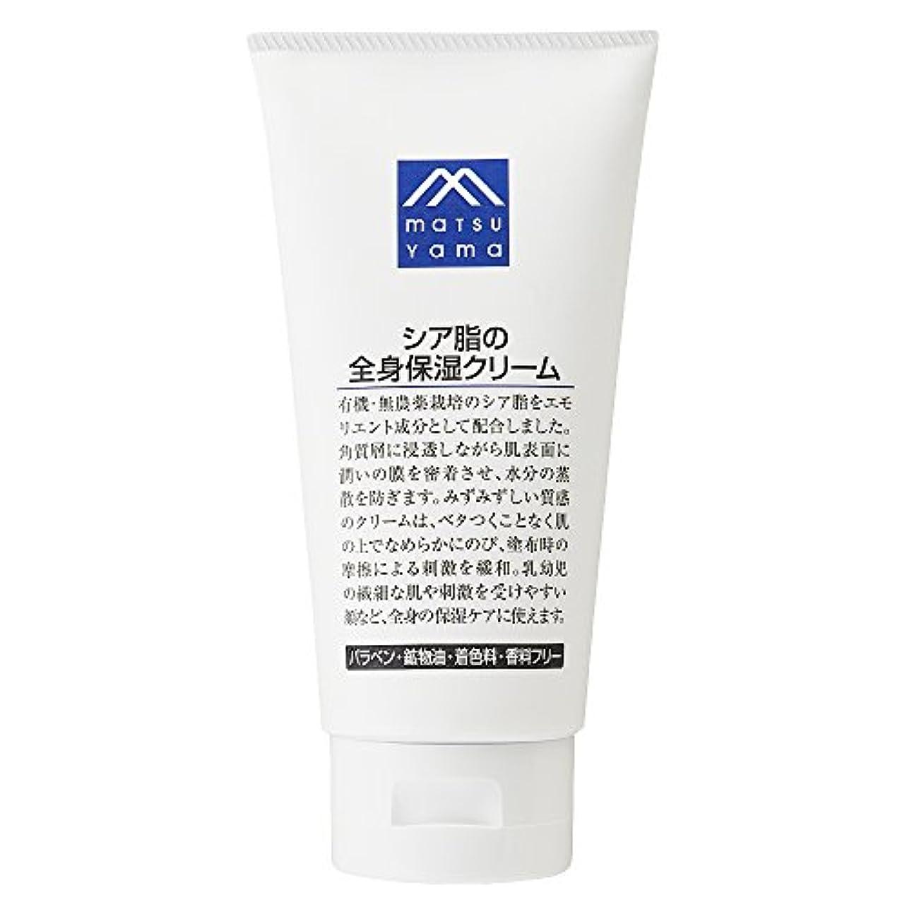 障害者ビーズ津波M-mark シア脂の全身保湿クリーム