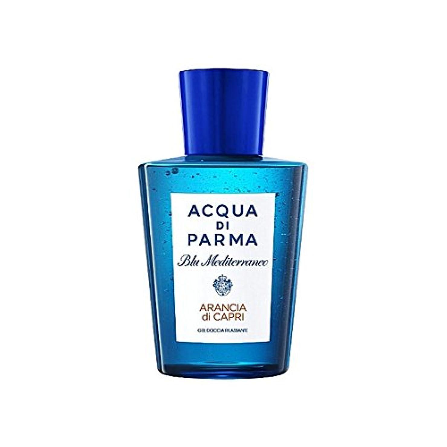 バルブ尊敬するジャンクAcqua Di Parma Blu Mediterraneo Arancia Di Capri Shower Gel 200ml - アクアディパルマブルーメディのアランシアジカプリシャワージェル200 [並行輸入品]