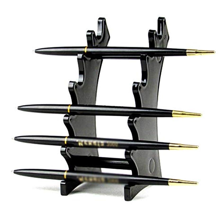 さびたさびたキャロラインFriferメイクブラシホルダー ペンホルダー ネイルブラシ 展示 収納 9区画 ディスプレイ アクリル ラック スタンド 高品質