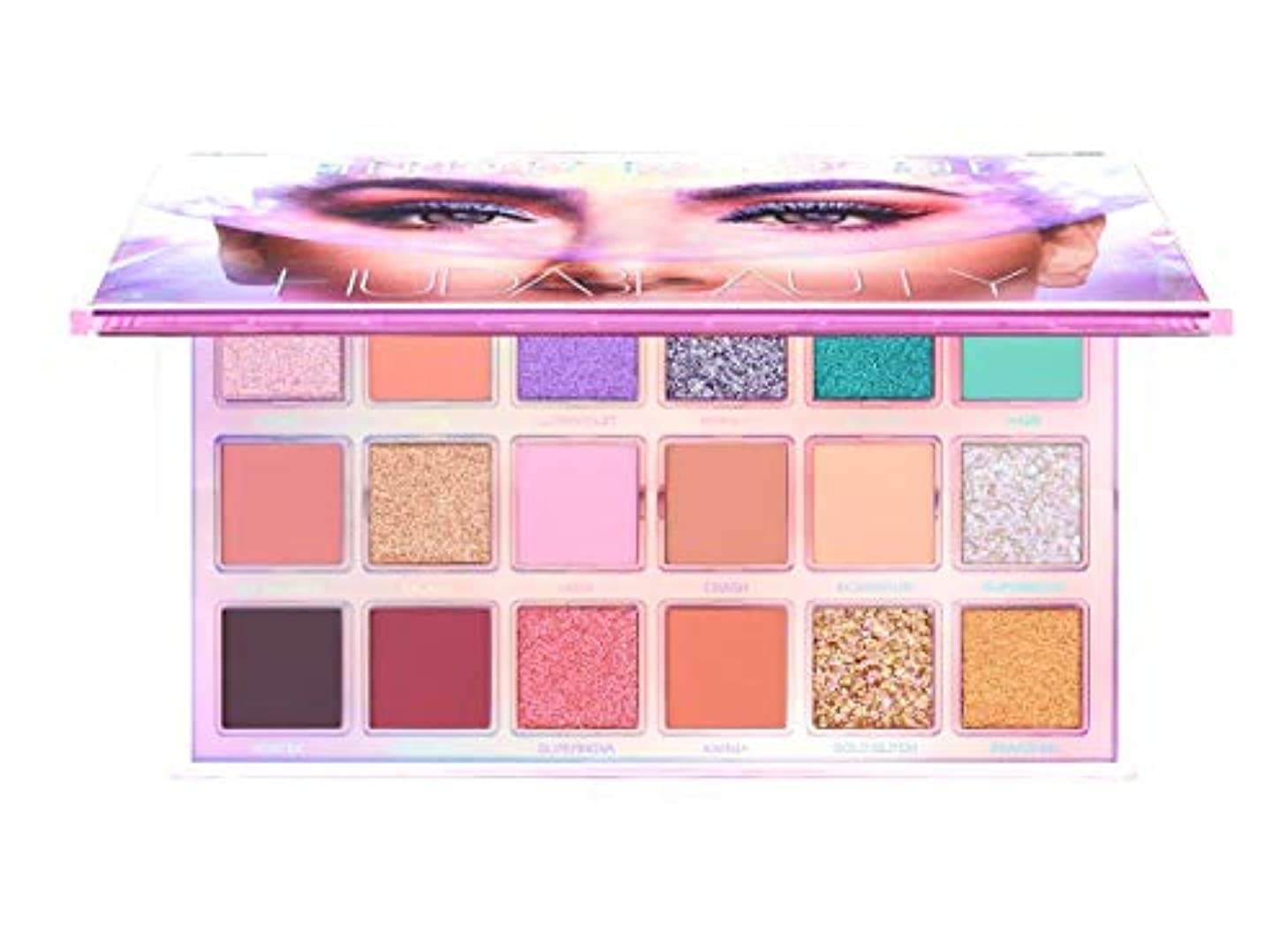 感情アブセイアスレチックHUDA BEAUTY フーダビューティー Mercury Retrograde Eyeshadow Palette