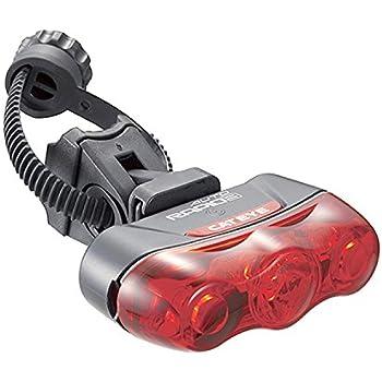 キャットアイ(CAT EYE) テールライトRAPID3 AUTO TL-AU630 自動点灯センサー 電池式