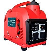 cmczz インバーター発電機 過負荷保護 额定出力1800W 100V 50Hz/60Hz切替 最大出力2000W 正弦波 一年保証
