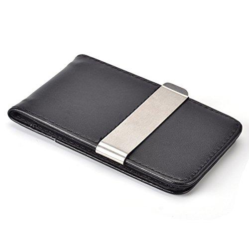 XeYOU 超薄型 財布 マネークリップ カード入れ 本革 ...