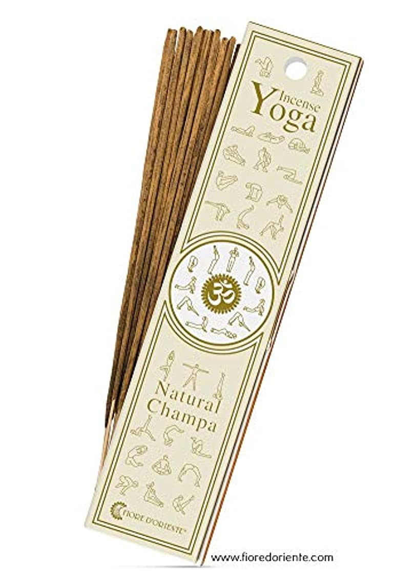 公然とスライスウールNatural Champa – ヨガ – Natural Incense Sticks 10 PZS – Natural Incense会社