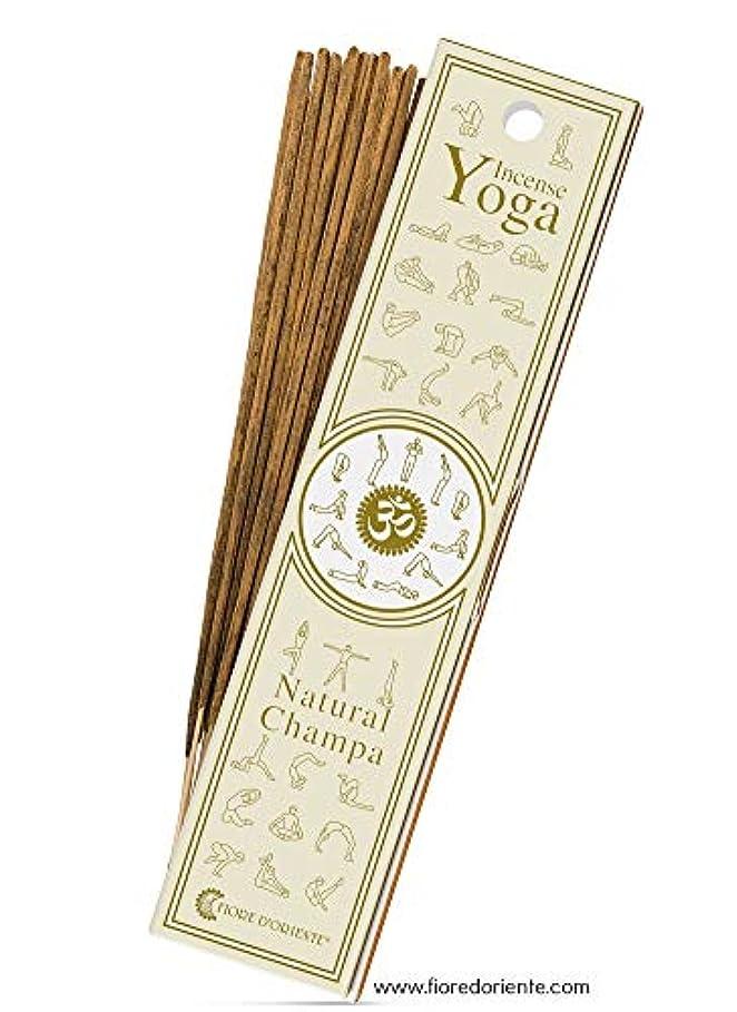 それら代わりののヒープNatural Champa – ヨガ – Natural Incense Sticks 10 PZS – Natural Incense会社
