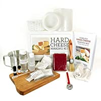 Hard Cheese Making Kit - Makes Manchego, Cheddar, Colby and Gouda by Grow and Make