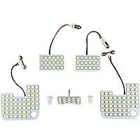 サンピエ(Sunpie)日産 キャラバン NV350 E26 GX専用 LEDルームランプセット 7点/487発 ホワイト 白