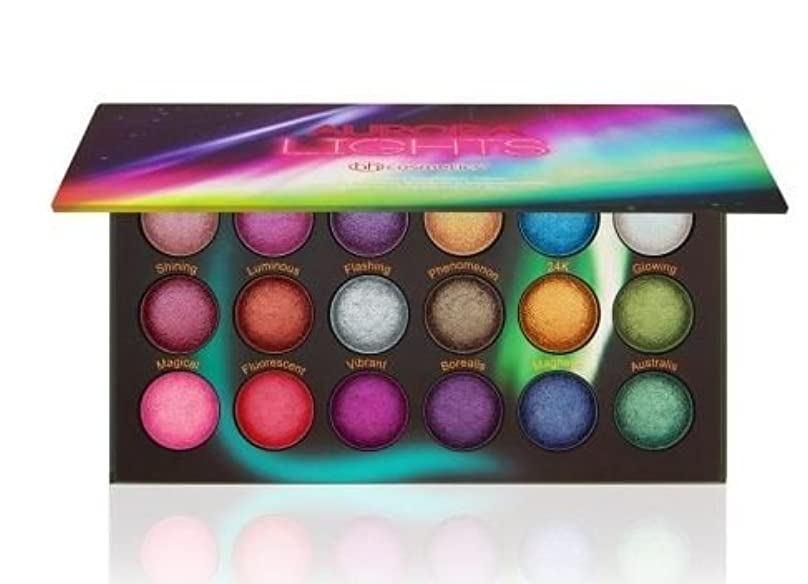 矢カラスジェーンオースティンBH Cosmetics Aurora Lights - 18 Color Baked Eyeshadow Palette