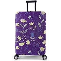 Periea Premium 3mm Elasticated Suitcase Luggage Cover - 38 Different Designs - Small, Medium or Large
