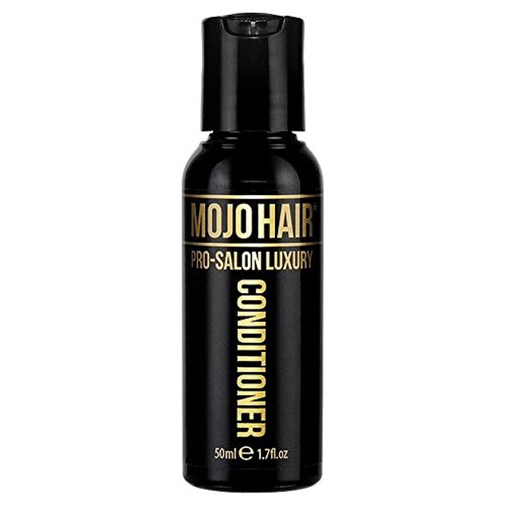 上廊下彼らのMOJO HAIR Pro-Salon Luxury Fragrance Conditioner for Men, Travel Size 50ml - 男性のためのモジョの毛プロのサロンの贅沢な香りコンディショナー、トラベルサイズ...