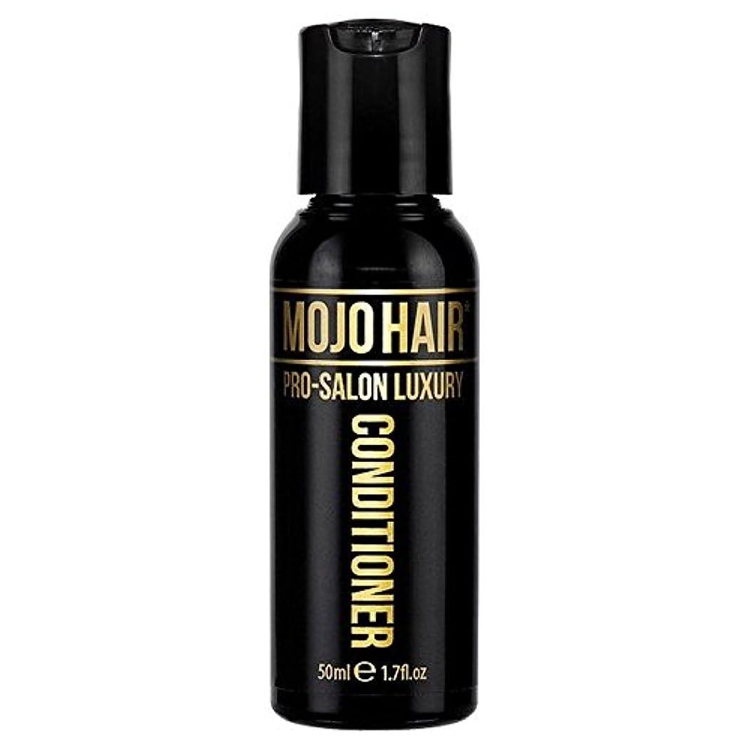 スティーブンソン超高層ビルスティーブンソン男性のためのモジョの毛プロのサロンの贅沢な香りコンディショナー、トラベルサイズの50ミリリットル x4 - MOJO HAIR Pro-Salon Luxury Fragrance Conditioner for Men...