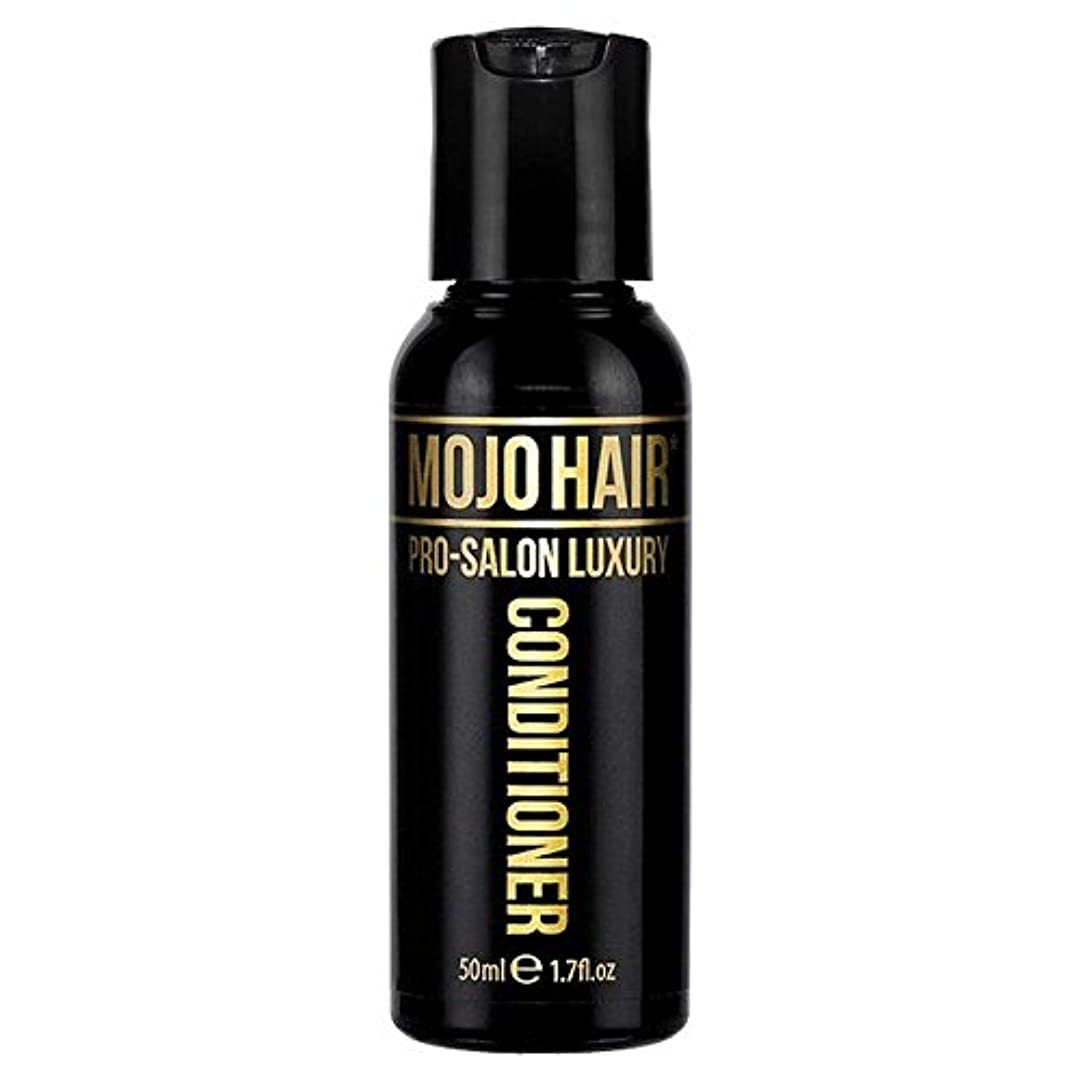 打ち負かす暴徒後方MOJO HAIR Pro-Salon Luxury Fragrance Conditioner for Men, Travel Size 50ml - 男性のためのモジョの毛プロのサロンの贅沢な香りコンディショナー、トラベルサイズ...