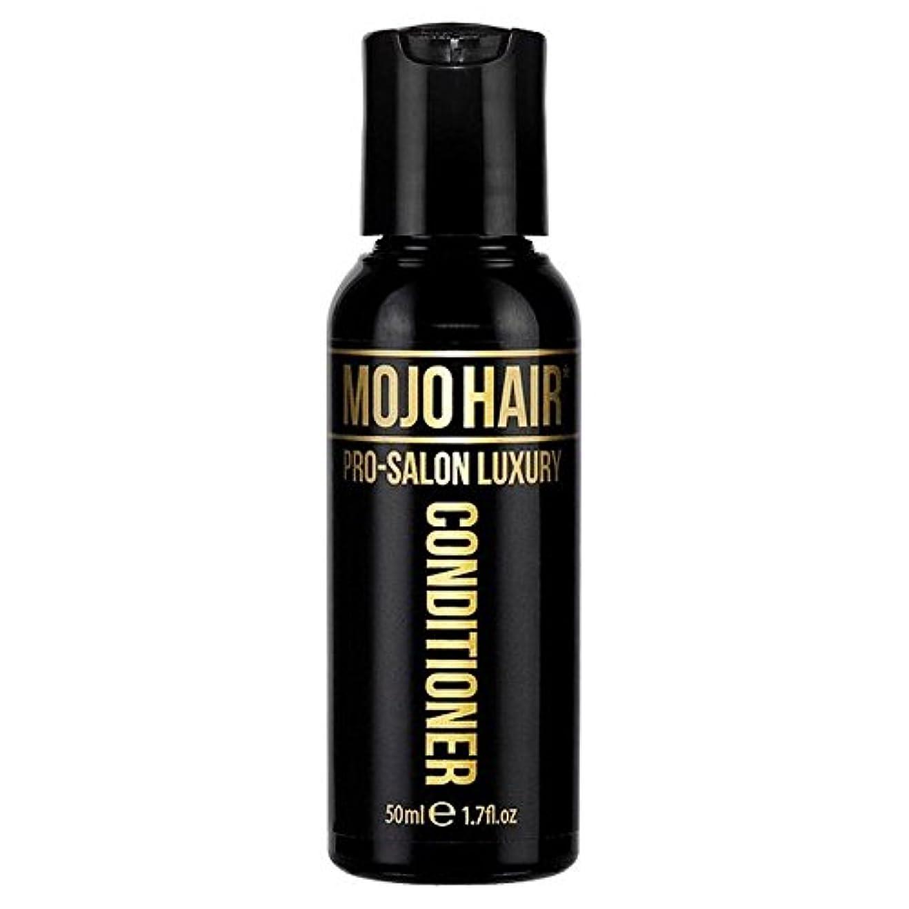 口空引用MOJO HAIR Pro-Salon Luxury Fragrance Conditioner for Men, Travel Size 50ml (Pack of 6) - 男性のためのモジョの毛プロのサロンの贅沢な...
