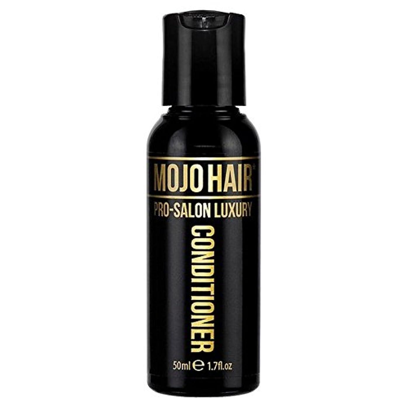 MOJO HAIR Pro-Salon Luxury Fragrance Conditioner for Men, Travel Size 50ml - 男性のためのモジョの毛プロのサロンの贅沢な香りコンディショナー、トラベルサイズ...