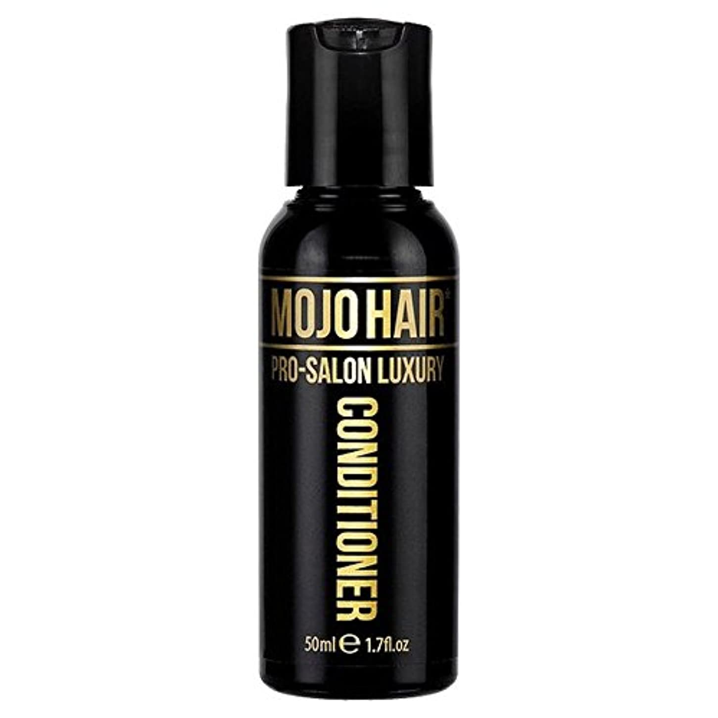 追い出す航空分散男性のためのモジョの毛プロのサロンの贅沢な香りコンディショナー、トラベルサイズの50ミリリットル x2 - MOJO HAIR Pro-Salon Luxury Fragrance Conditioner for Men...