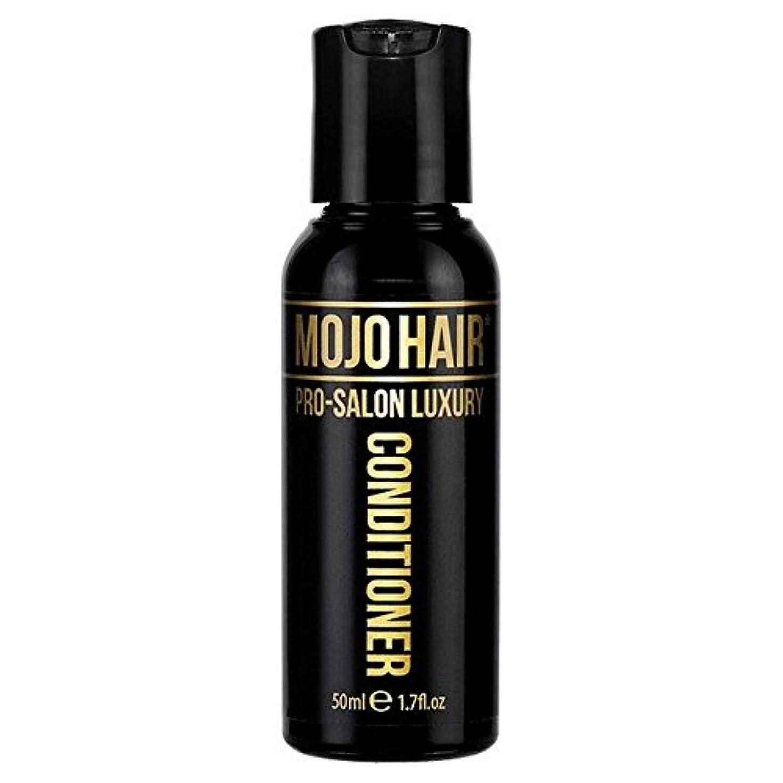 世辞フォーカス無秩序MOJO HAIR Pro-Salon Luxury Fragrance Conditioner for Men, Travel Size 50ml - 男性のためのモジョの毛プロのサロンの贅沢な香りコンディショナー、トラベルサイズ...