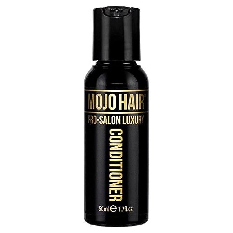 歴史家テーブルエキスパート男性のためのモジョの毛プロのサロンの贅沢な香りコンディショナー、トラベルサイズの50ミリリットル x2 - MOJO HAIR Pro-Salon Luxury Fragrance Conditioner for Men, Travel Size 50ml (Pack of 2) [並行輸入品]