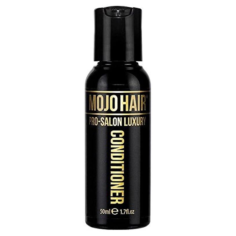 津波マオリ責めるMOJO HAIR Pro-Salon Luxury Fragrance Conditioner for Men, Travel Size 50ml - 男性のためのモジョの毛プロのサロンの贅沢な香りコンディショナー、トラベルサイズ...