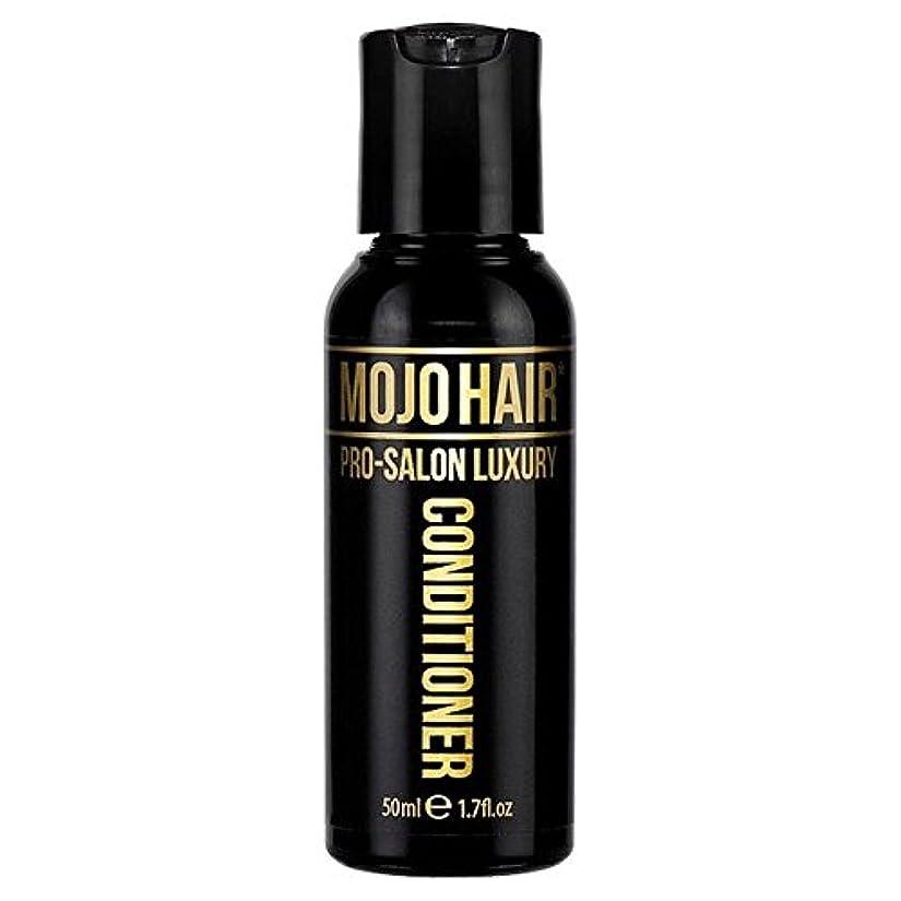 MOJO HAIR Pro-Salon Luxury Fragrance Conditioner for Men, Travel Size 50ml (Pack of 6) - 男性のためのモジョの毛プロのサロンの贅沢な...