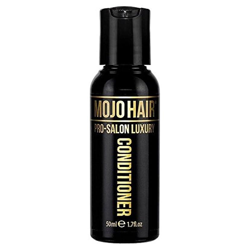 チップ不利益施設男性のためのモジョの毛プロのサロンの贅沢な香りコンディショナー、トラベルサイズの50ミリリットル x4 - MOJO HAIR Pro-Salon Luxury Fragrance Conditioner for Men...