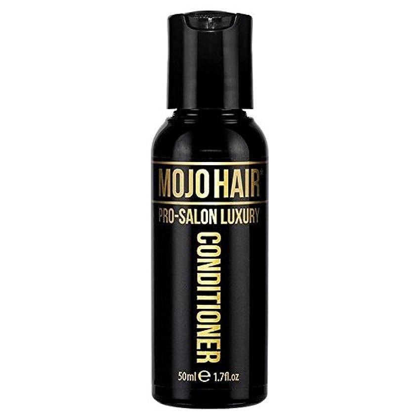 不十分なパノラマ時制MOJO HAIR Pro-Salon Luxury Fragrance Conditioner for Men, Travel Size 50ml (Pack of 6) - 男性のためのモジョの毛プロのサロンの贅沢な...