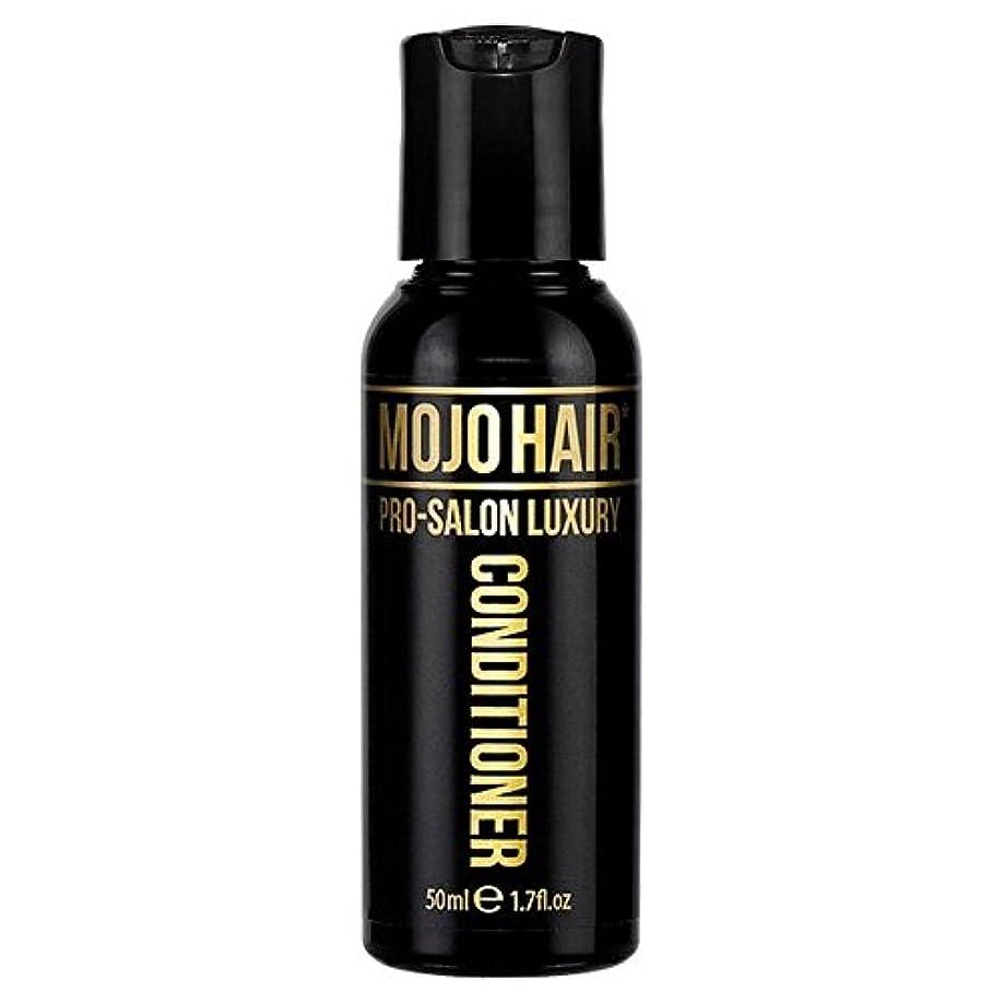 洪水家畜やめるMOJO HAIR Pro-Salon Luxury Fragrance Conditioner for Men, Travel Size 50ml (Pack of 6) - 男性のためのモジョの毛プロのサロンの贅沢な...